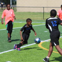 SAY Play Warriors Host First Soccer Game