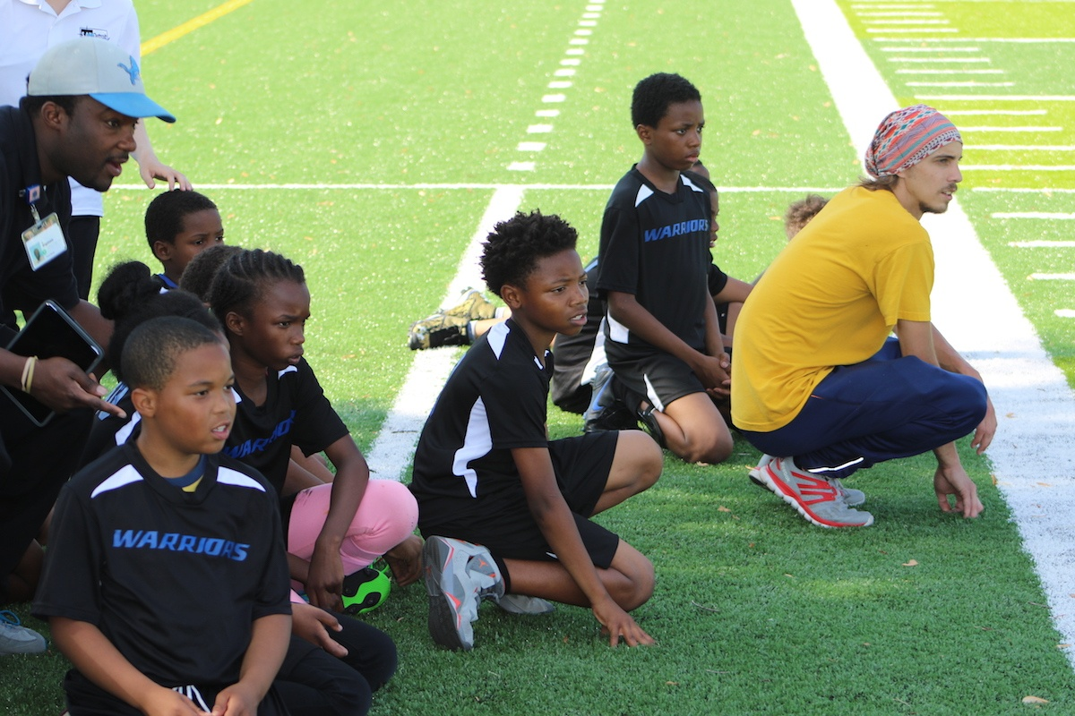 SAY Play Warriors Host First Soccer Game | SAY Play Center