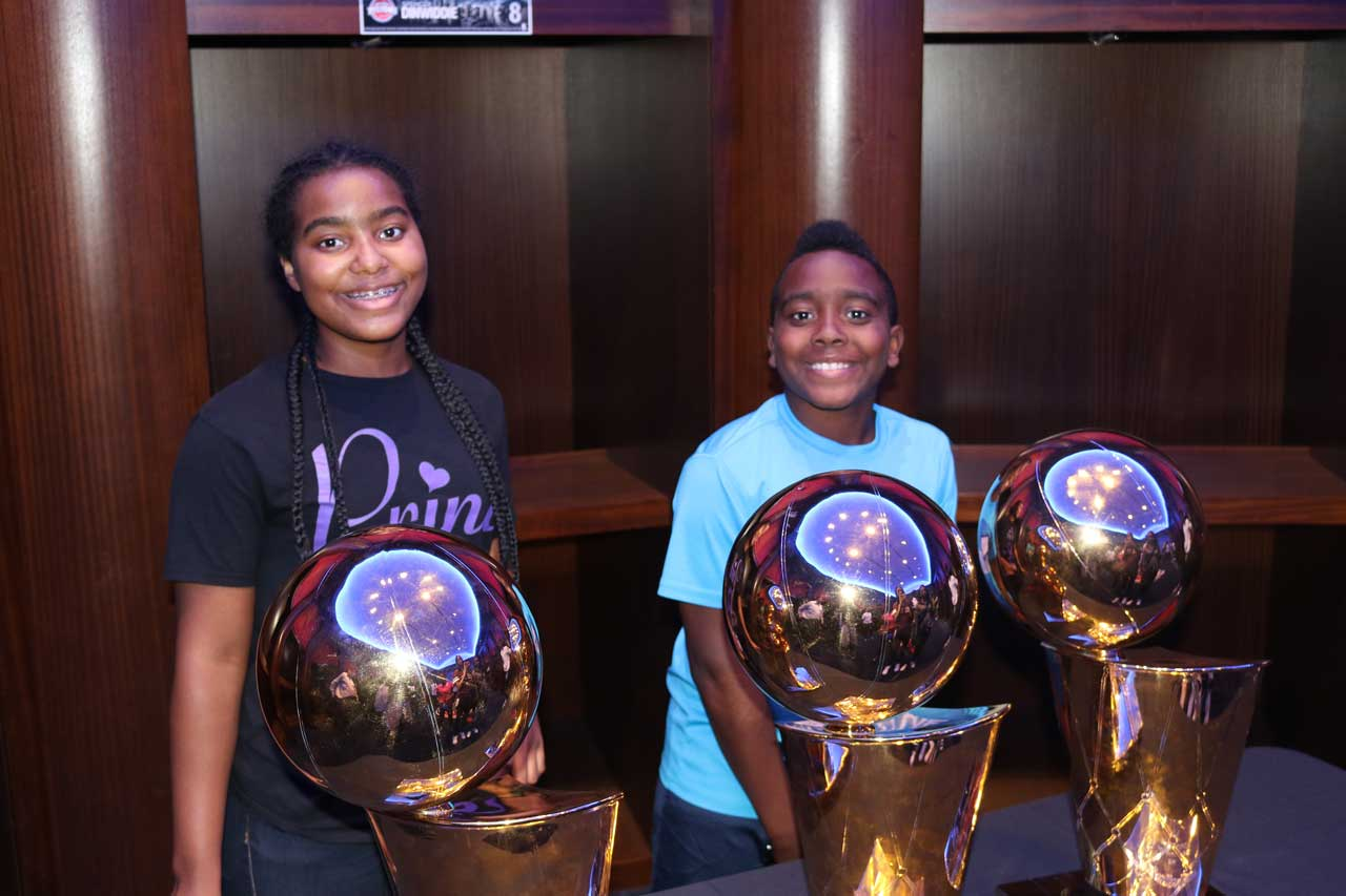 SAY Play Summer of Success visits The Palace of Auburn Hills   SAY Play Center