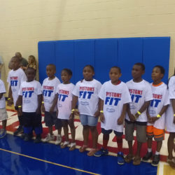 Saturday's Pistons Health Fit Clinic a Huge Hit!