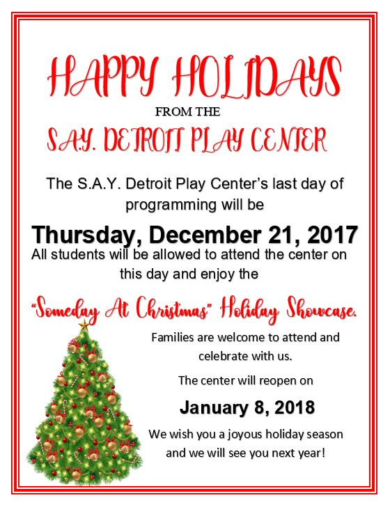"""""""Some Day At Christmas..."""" Showcase 