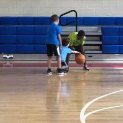 Summer Basketball Slam Dunks
