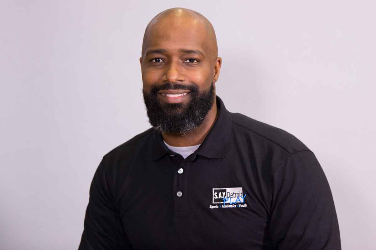 Derrick Hayes is Director of Culture and Partnerships at S.A.Y. Detroit Play Center