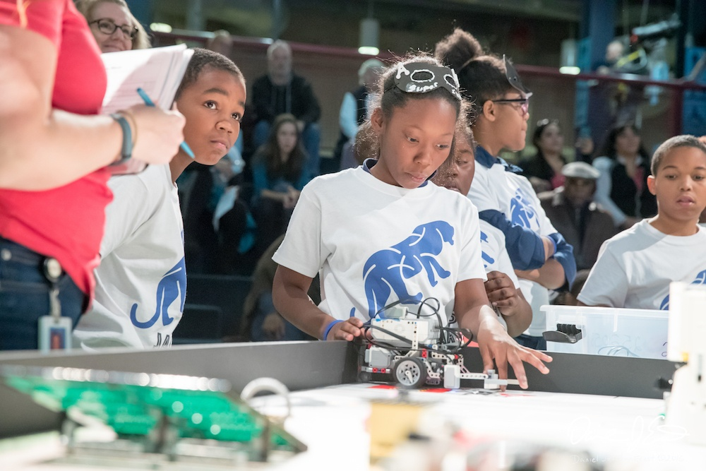 First LEGO League Qualifier at Michigan Science Center
