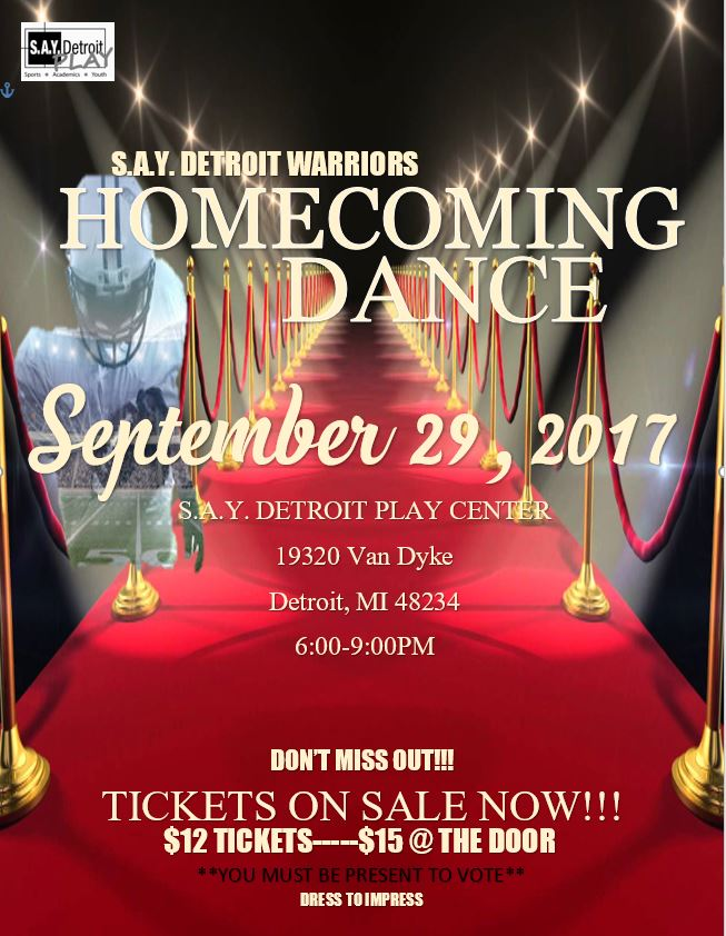 Homecoming Dance   SAY Play Center