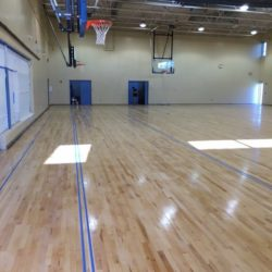 Week 2 of Basketball Gym Construction