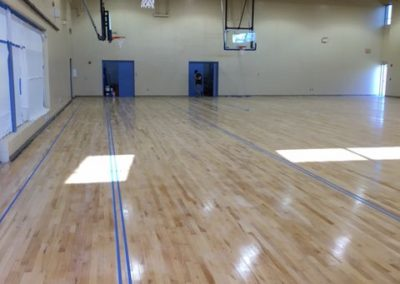 Week 2 of Basketball Gym Construction   SAY Play Center
