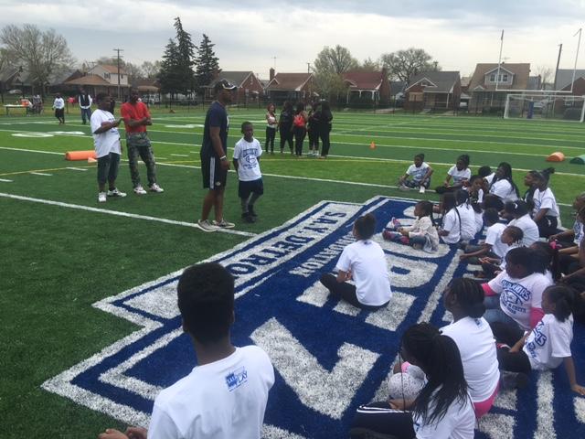 SAY Play Warriors Football and Cheer Camp | SAY Play Center
