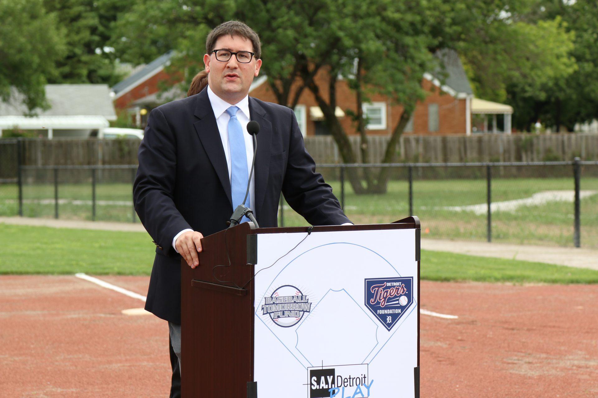 S.A.Y. Play Baseball Field Dedication a Home Run! | SAY Play Center
