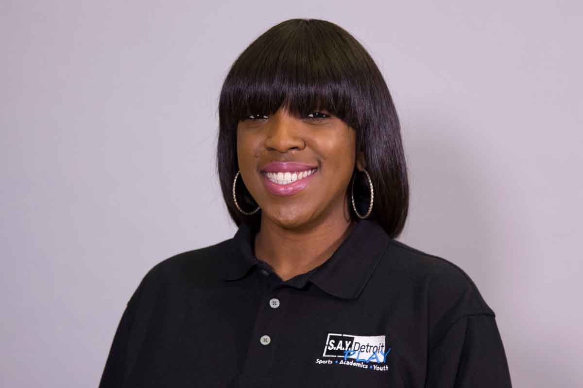Jenell Mansfield is Director of Academics at S.A.Y. Detroit Play Center