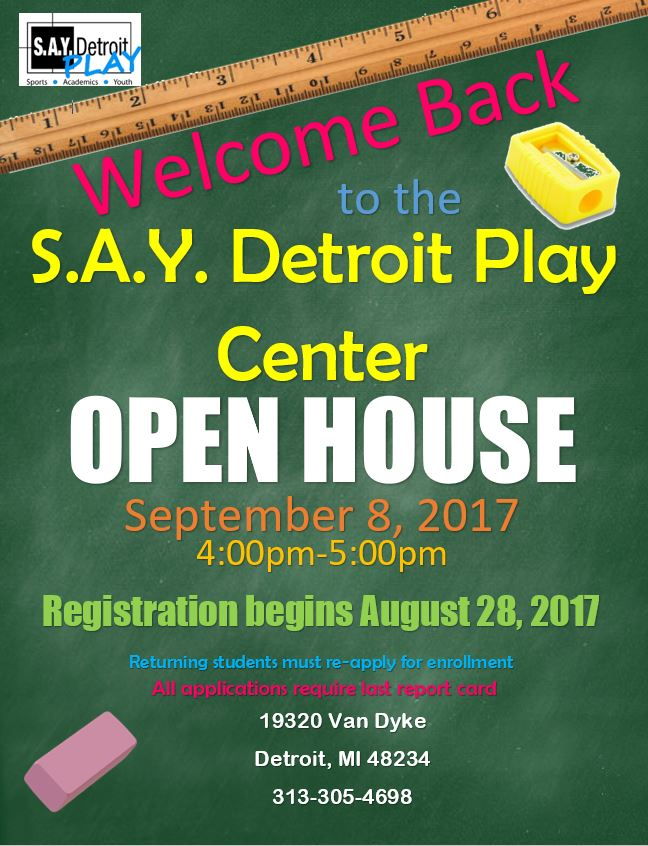 Open House   SAY Play Center
