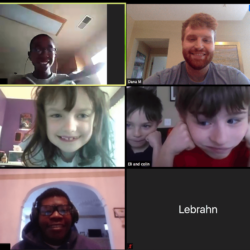 Connecting Virtually With Our Students at Home