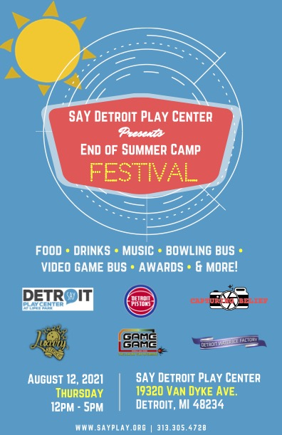 End of Summer Camp Festival | SAY Play Center