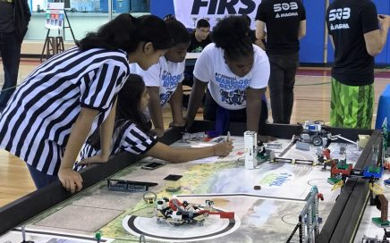 Warriors Revenge FIRST FLL Invitational Held at S.A.Y. Detroit Play Center on May 19, 2017