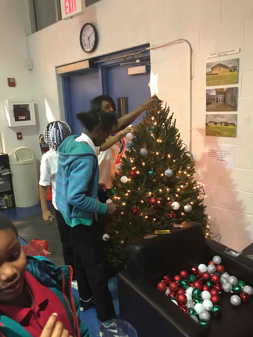 Wrapping Our World in a Bow and Holiday Cheer | SAY Play Center