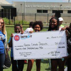The Detroit Pistons Community Giving Challenge