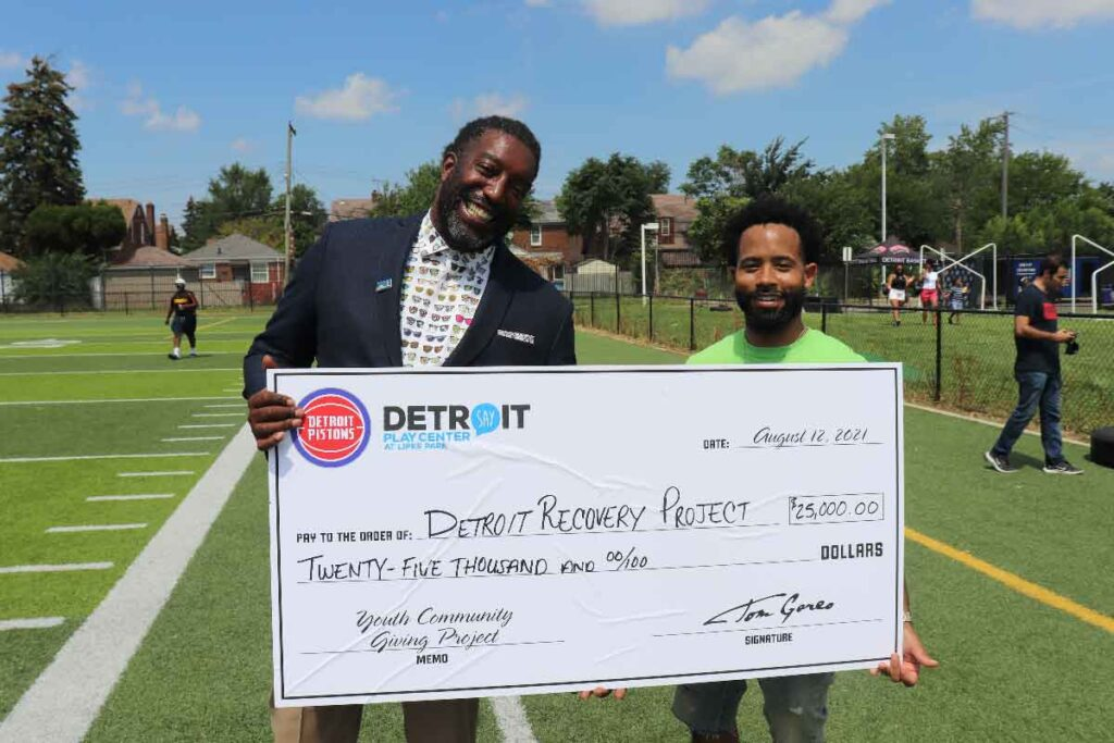 The Detroit Pistons Community Giving Challenge | SAY Play Center