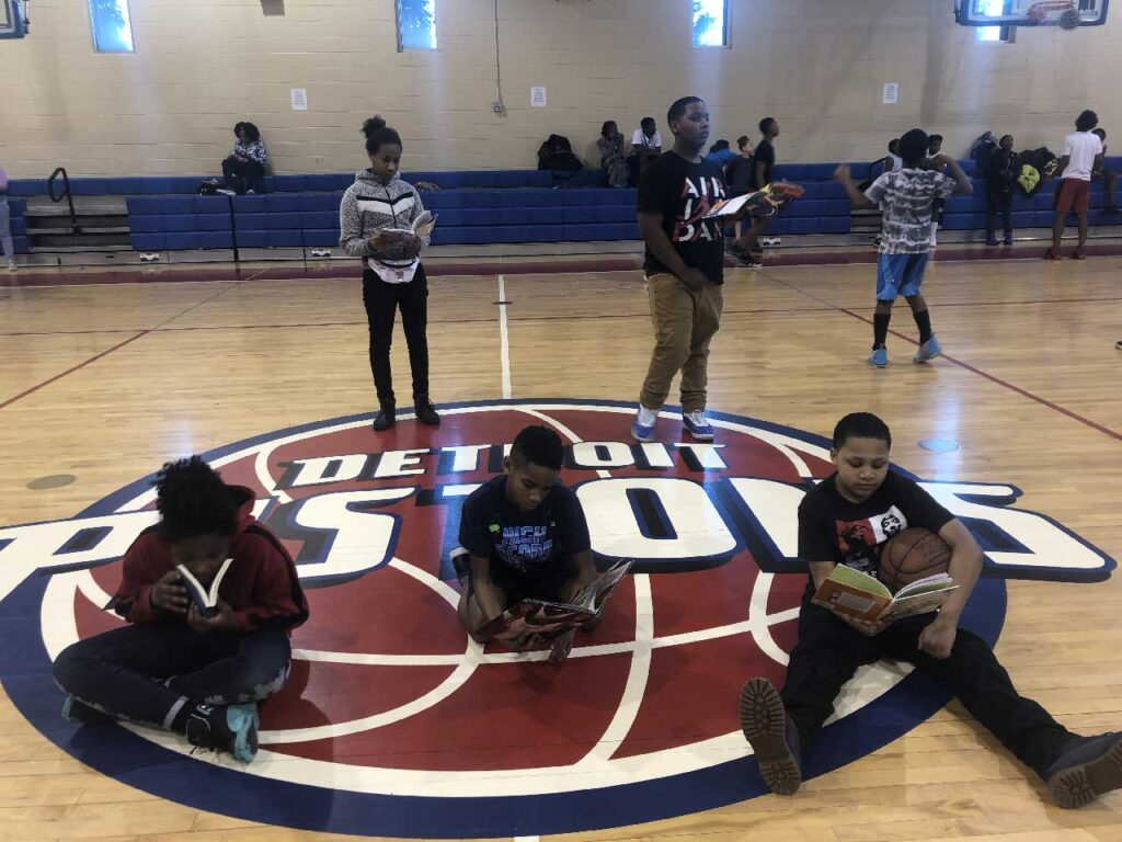 Detroit Pistons Reading Challenge   SAY Play Center