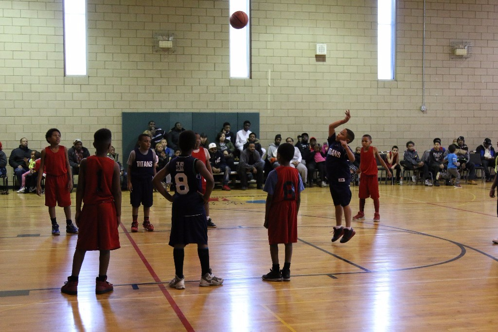 The SAY Play Warriors play in Detroit PAL every Saturday at the Center.